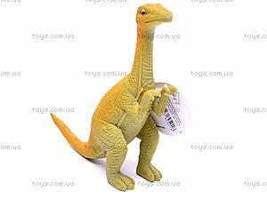 Игрушечный резиновый динозавр, 7210