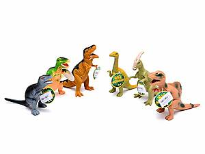 Игрушечный резиновый динозавр, 7210, фото
