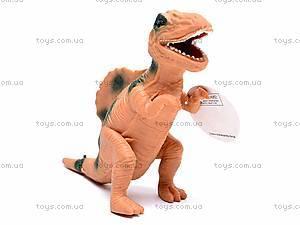 Игрушечный резиновый динозавр, 7210, игрушки