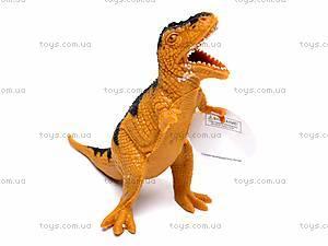 Игрушечный резиновый динозавр, 7210, детские игрушки