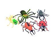 Набор резиновых насекомых, HB98146, купить