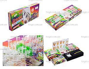 Набор резинок для плетения, 600 штук, HB011987PP-6, toys.com.ua