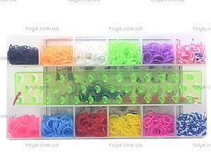 Набор резинок для плетения в кейсе, 2200 штук, DU1409-3, цена