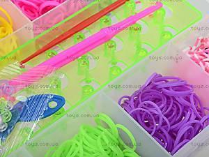 Набор резинок для плетения в кейсе, 2200 штук, DU1409-3, toys.com.ua
