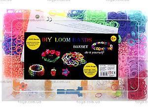 Набор резинок для плетения, в коробке, 2537-500, цена