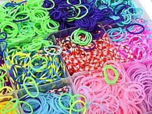 Набор резинок для плетения, в коробке, 2537-500, игрушки