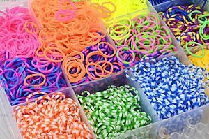 Набор резинок для плетения, в коробке, 2537-500, магазин игрушек