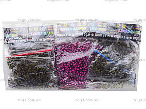 Набор резинок для плетения, 12 комплектов, 104401D1-2098-21, детские игрушки