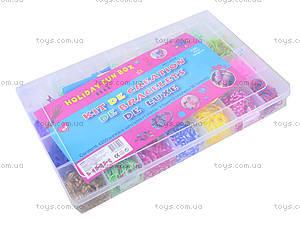 Большой набор резинок для плетения, 4200 штук, 2537-100, toys.com.ua