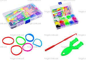Набор резинок для плетения в чемодане, 003578