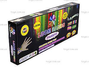 Набор резинок для плетения, 600 штук, HB011987PP-6, игрушки