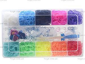 Набор резинок для плетения в коробке, , цена