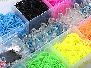 Набор резинок для плетения в коробке, , детские игрушки