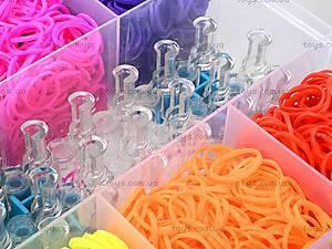Набор резинок для плетения в коробке, , toys
