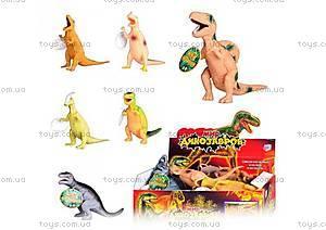Набор резиновых динозавров,