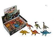 Резиновые динозаврики по штучно, KQ-KL-02