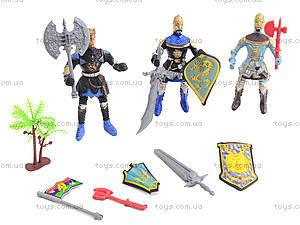 Набор рыцарей с оружием, 978-65, фото