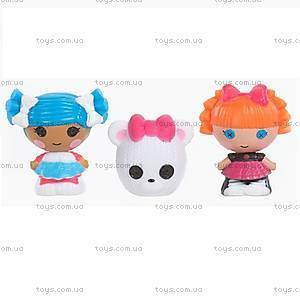 Набор с куклами-крошками Lalaloopsy «Снежинка и умница отличница», 531531