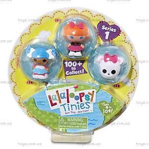 Набор с куклами-крошками Lalaloopsy «Снежинка и умница отличница», 531531, купить