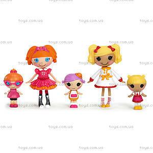 Набор с куклами Minilalaloopsy Первоклашки из серии «Веселая компашка», 531715