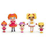 Набор с куклами Minilalaloopsy Первоклашки из серии «Веселая компашка», 531715, цена
