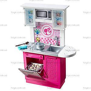 Набор с куклой Barbie «Роскошная кухня», CFB62, фото