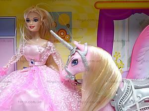 Набор с куклой и лошадками, 66290, фото