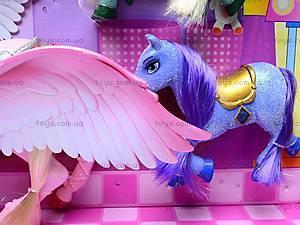 Набор с куклой и лошадками, 66290, детские игрушки