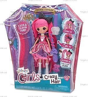 Набор с куклой Lalaloopsy Girls «Конфетти» серии Crazy Hair, 537298, фото