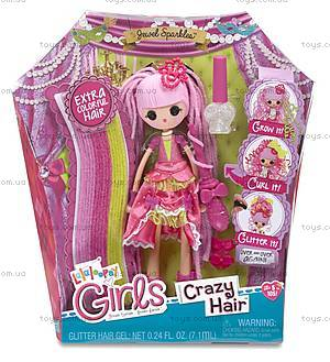 Набор с куклой Lalaloopsy Girls «Принцесса Блестинка» серии Crazy Hair, 537267, фото