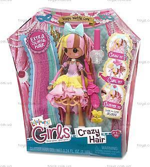 Набор с куклой Lalaloopsy Girls «Вафелька» серии Crazy Hair, 537274, фото