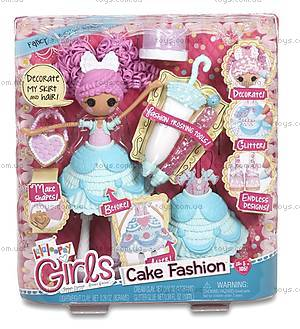 Набор с куклой Lalaloopsy Girls «Глазурина» серии Lalabration, 536352