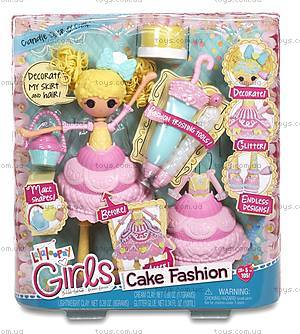 Набор с куклой Lalaloopsy Girls «Сластена» серии Lalabration, 536345