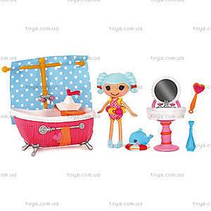 Набор с куклой Minilalaloopsy «Банный день», 510260
