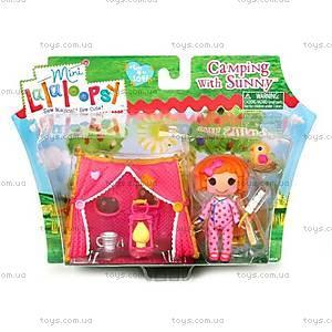 Набор с куклой Minilalaloopsy «Санни на кемпинге», 534129
