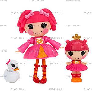 Куклы Minilalaloopsy Дюймовочки-Балерины серии «Сестрички», 529804