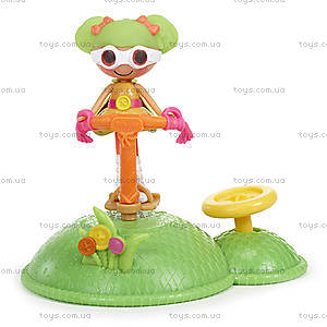 Набор с куклой Minilalaloopsy Дина прыгунья из серии «Спортивные игры», 530398