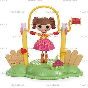 Набор с куклой Minilalaloopsy Дюна со скакалкой из серии «Спортивные игры», 530381