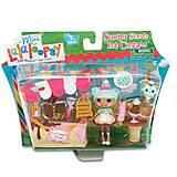 Набор с куклой Minilalaloopsy «Вафелька и киоск с мороженым», 536567, фото