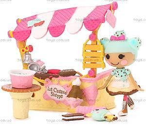 Набор с куклой Minilalaloopsy «Вафелька и киоск с мороженым», 536567, купить