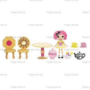 Набор с куклой Minilalaloopsy «Веселое чаепитие Печенюшки-Сладкоежки», 532583