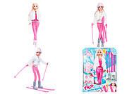 """Набор с куклой Асей """"Зимняя красавица"""", блондинка, 35129, детские игрушки"""