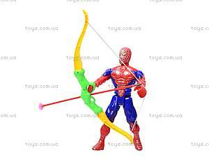 Набор с луком и стрелами «Spiderman», 7766A, фото
