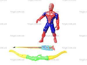 Набор с луком и стрелами «Spiderman», 7766A, детские игрушки