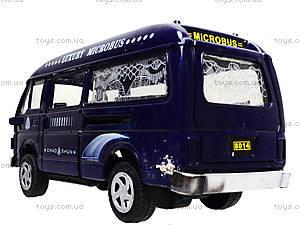 Металлическая машинка «Фургончик», EK80149R, игрушки