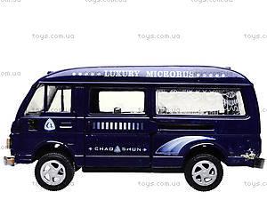 Металлическая машинка «Фургончик», EK80149R, детские игрушки