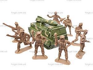 Набор с солдатиками «Армия», 2266-11, игрушки