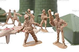 Набор с солдатиками «Армия», 2266-11, детские игрушки