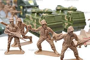 Набор с солдатиками «Армия», 2266-11, магазин игрушек
