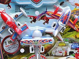 Набор самолетиков и машин «Тачки», 389-48, купить